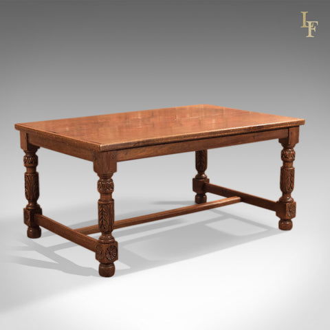 Antique Refectory Table, Low Work Table c1800 - London Fine Antiques