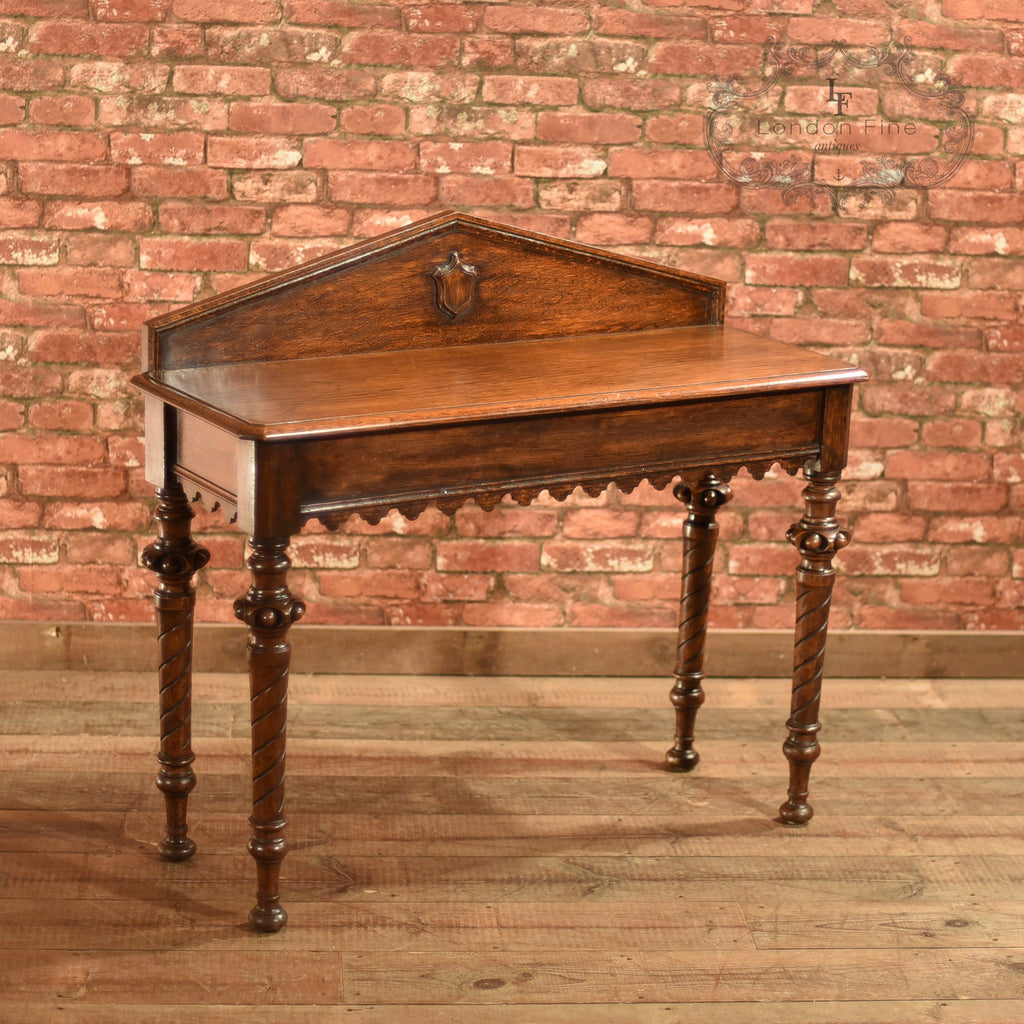 Regency Oak Console Table, c.1820 - London Fine Antiques