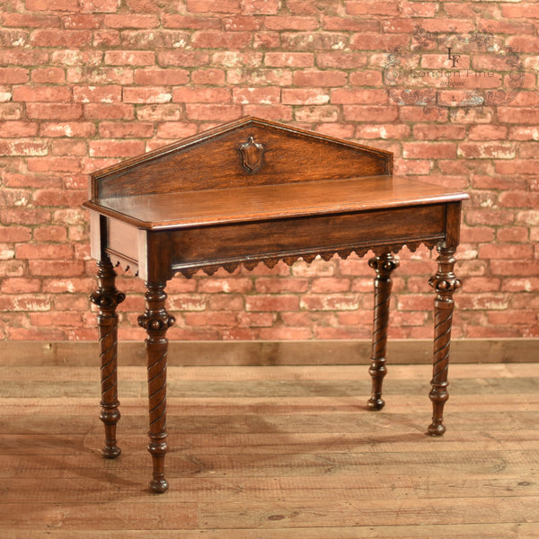 Regency Oak Console Table, c.1820 - London Fine Antiques - 2