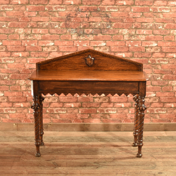 Regency Oak Console Table, c.1820 - London Fine Antiques - 3