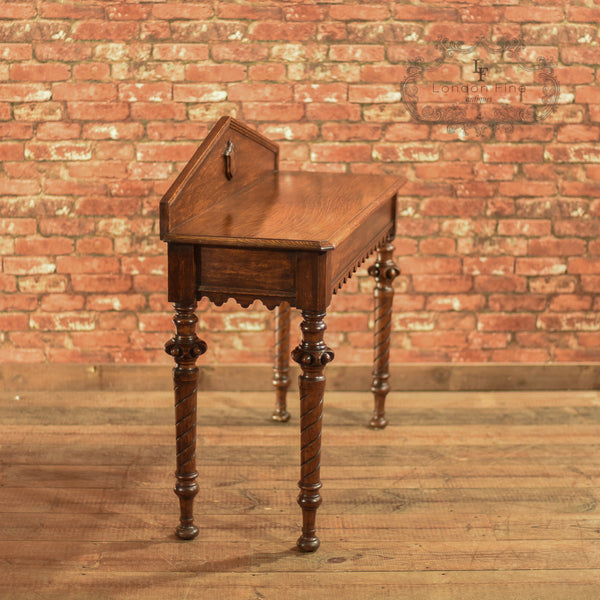 Regency Oak Console Table, c.1820 - London Fine Antiques - 4