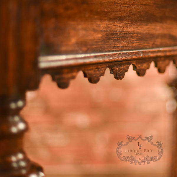Regency Oak Console Table, c.1820 - London Fine Antiques - 7
