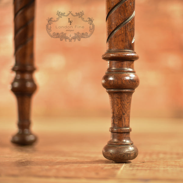 Regency Oak Console Table, c.1820 - London Fine Antiques - 8