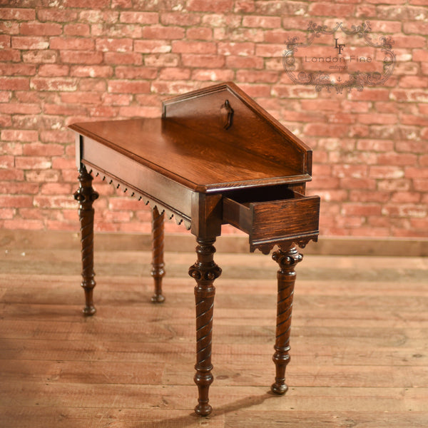 Regency Oak Console Table, c.1820 - London Fine Antiques - 9