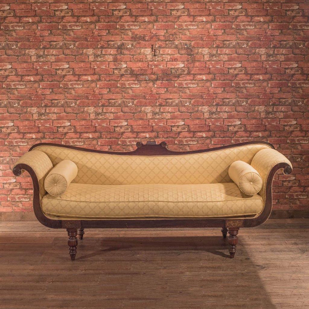 Regency Sofa Day Bed, English c.1830 - London Fine Antiques