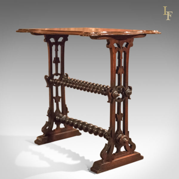 Victorian Rosewood Side Table, c.1860 - London Fine Antiques