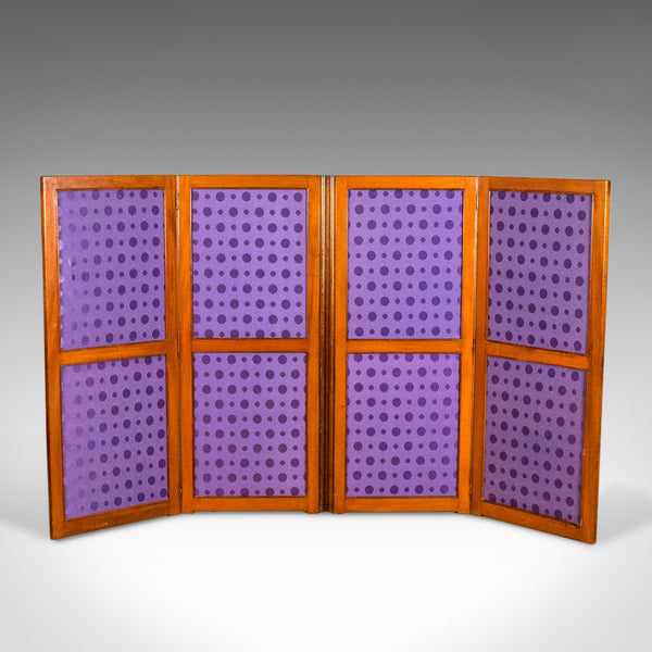 Antique Screen, English, Victorian, Room Divider, Photographer's Prop Circa 1860 - London Fine Antiques