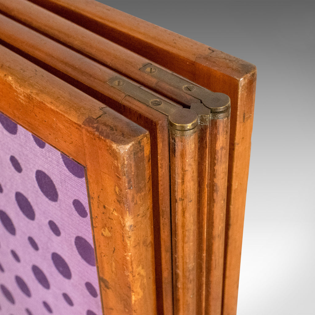 Antique Screen English Victorian Room Divider Photographers