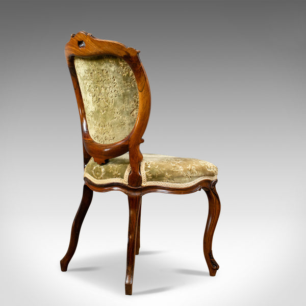 Antique Set of Four Dining Chairs, Victorian, Rosewood, Howard & Sons Circa 1880