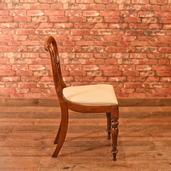 William IV, Set of Six Buckle Back Dining Chairs, c.1835 - London Fine Antiques - 3