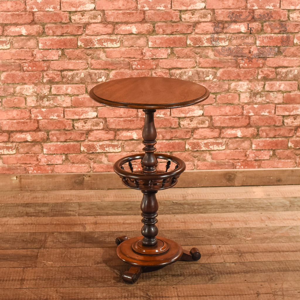 Victorian Mahogany Side Table, c.1860 - London Fine Antiques - 1