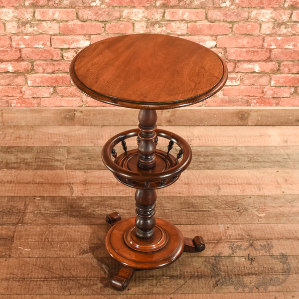 Victorian Mahogany Side Table, c.1860 - London Fine Antiques - 2