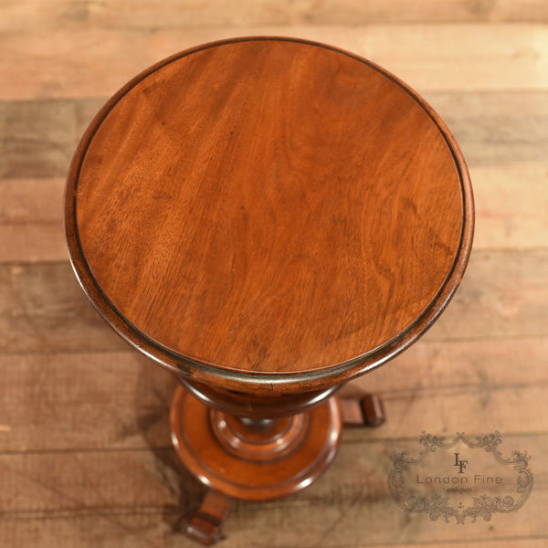 Victorian Mahogany Side Table, c.1860 - London Fine Antiques - 3