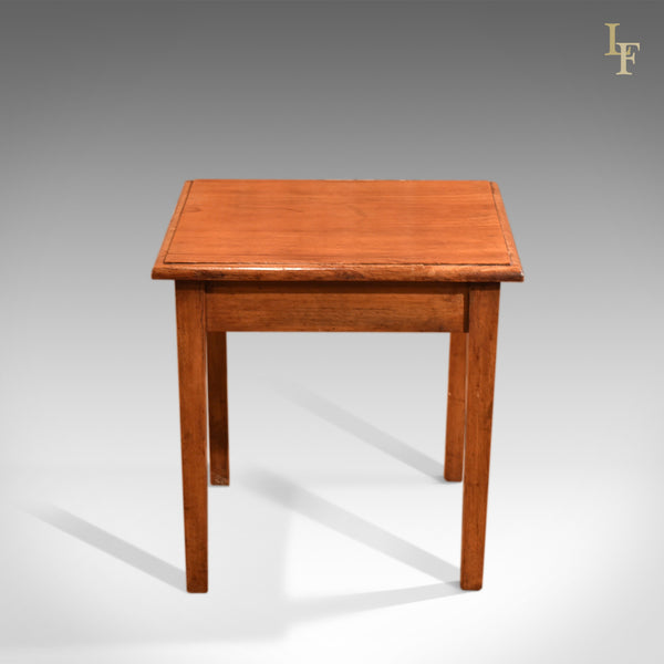 Antique Side Table, Early 20th Century Oak c.1910 - London Fine Antiques