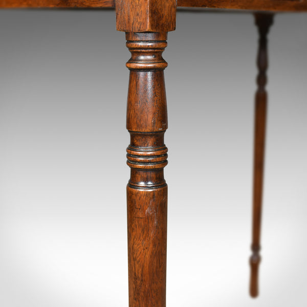 Antique Side Table, English, Georgian, Mahogany, Console Table, Circa 1790 - London Fine Antiques
