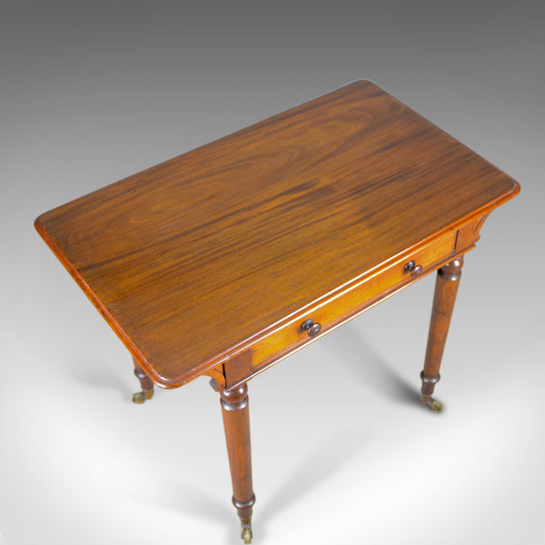 Antique Side Table by Holland and Sons, English, Victorian, Mahogany, Circa 1860 - London Fine Antiques