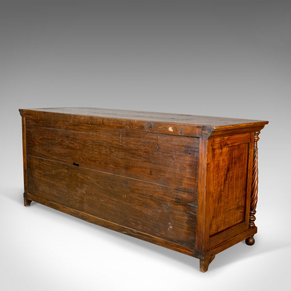 Antique Sideboard, Colonial Cabinet, Fruitwood, Cupboard, Early 20th Century - London Fine Antiques