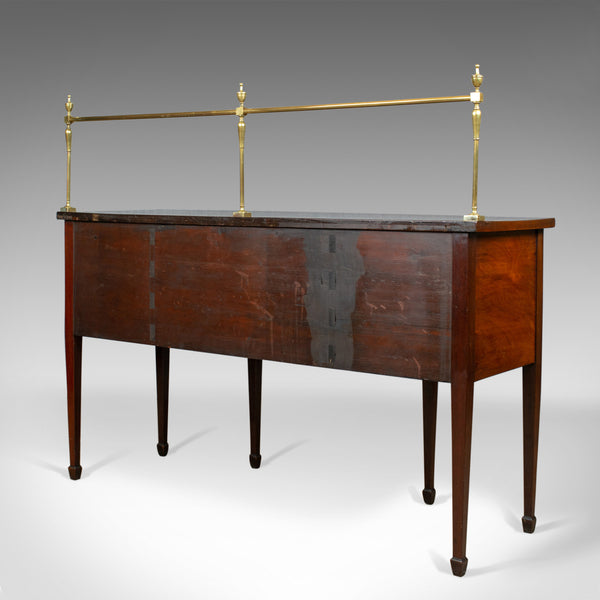 Antique Sideboard, English, Regency, Server, Mahogany, 19th Century, Circa 1830 - London Fine Antiques