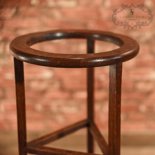 Edwardian Oak Stick Stand, R.A. Lister & Co, c.1910 - London Fine Antiques