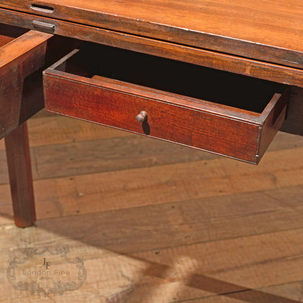 George III Mahogany Tea Table, c.1800 - London Fine Antiques