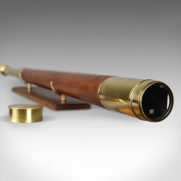 Antique Telescope on Stand, Terrestrial Astronomical Negretti & Zambra, 1899 - London Fine Antiques