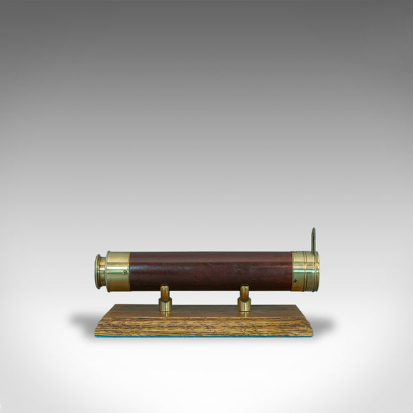 Antique Telescope, 2 Draw Refractor, Terrestrial, Astronomical, English, C.1810 - London Fine Antiques