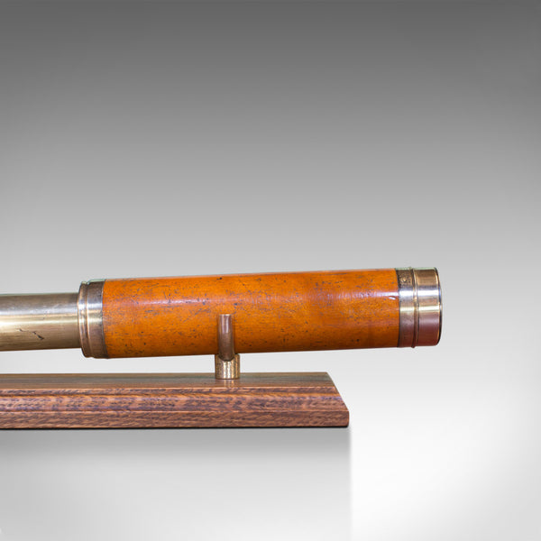 Antique Telescope, 3 Draw Refractor, English, Georgian, Lincoln of London, 1770
