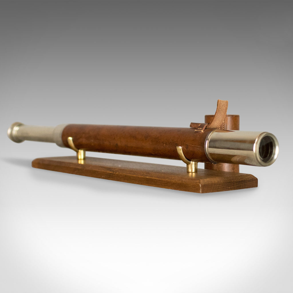 Antique Telescope, A Franks Ltd, Manchester, Officer of the Watch, Early C20th - London Fine Antiques