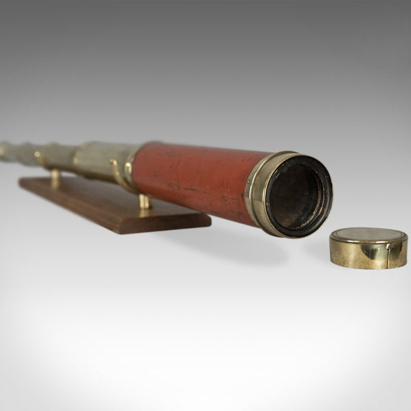 Antique Telescope, Dollond London, Terrestrial Four Draw Refractor Circa 1800 - London Fine Antiques