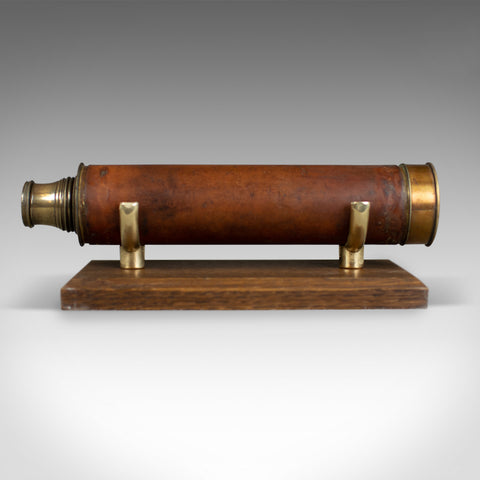 Antique Telescope, Dollond, Three Draw, Terrestrial, Astronomical Circa 1830