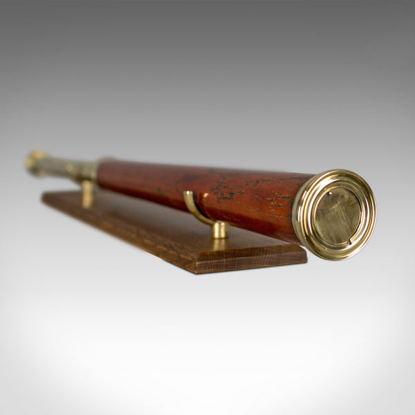 Antique Telescope, English, Single Draw Refractor, T Harris & Son London, c.1810 - London Fine Antiques