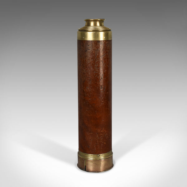 Antique Telescope, Five Draw Terrestrial Refractor, Banks of London Circa 1820 - London Fine Antiques