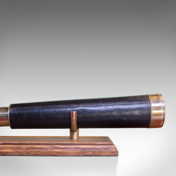 Antique Telescope, Regency, Baker of London, Two Draw Refractor, Circa 1920