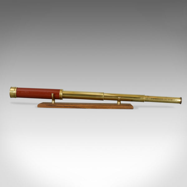 Antique Telescope, Three Draw Refractor, English, Georgian Dollond Circa 1800