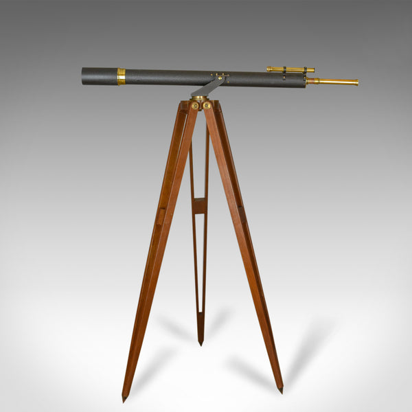 Antique Telescope on Tripod, Original Case, Three Inch Refractor, Circa 1920-40 - London Fine Antiques