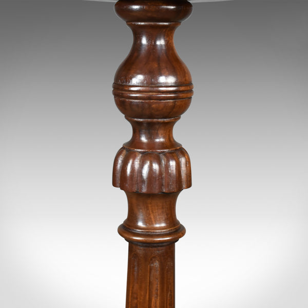 Antique Torchere, English, Edwardian, Plant Stand, Mahogany, Circa 1910 - London Fine Antiques