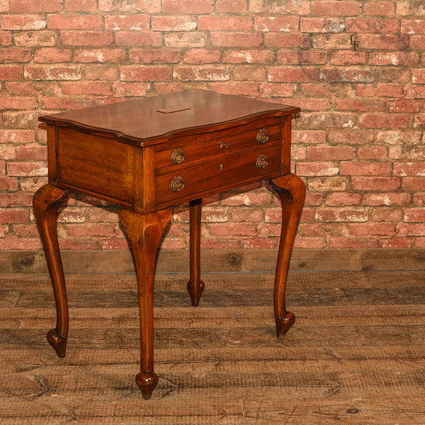 Early 20th Century Two Drawer Side Table - London Fine Antiques - 2