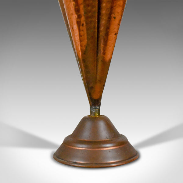 Antique Umbrella Stand in Copper and Brass, French Early 20th Century Circa 1920 - London Fine Antiques