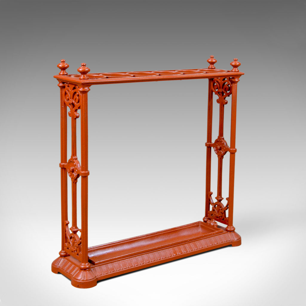 Antique Umbrella Stand, English, Victorian, Coalbrookdale, Hall, Stick, c.1890 - London Fine Antiques