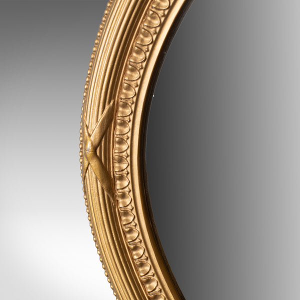 Antique Wall Mirror, English, 1920s, Giltwood Frame, Portrait, Landscape