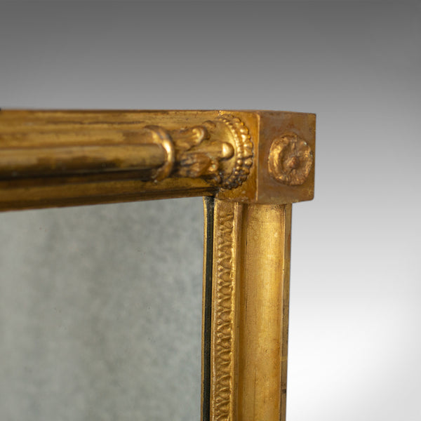 Antique Wall Mirror, English, Georgian, Giltwood, Console, Circa 1800