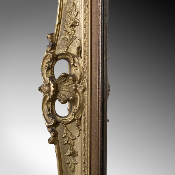 Antique Wall Mirror, English, Victorian, Picture Frame, 19th Century Circa 1900 - London Fine Antiques