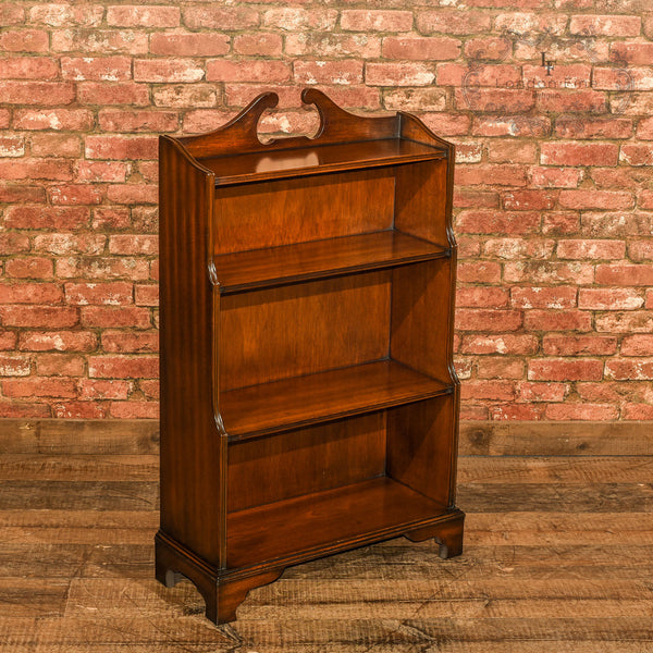 Edwardian Waterfall Bookcase, c.1910 - London Fine Antiques