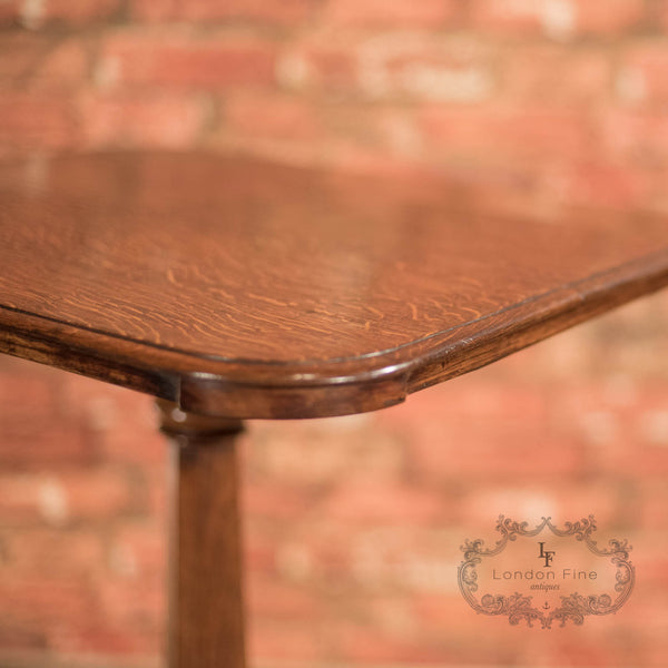 Late Regency Oak Wine Table, c.1830 - London Fine Antiques