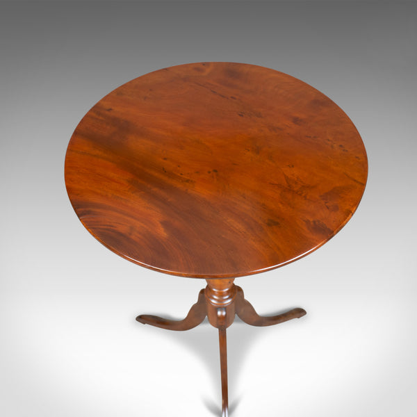 Antique Wine Table, Regency, Circular, Side, Mahogany, Circa 1820 - London Fine Antiques
