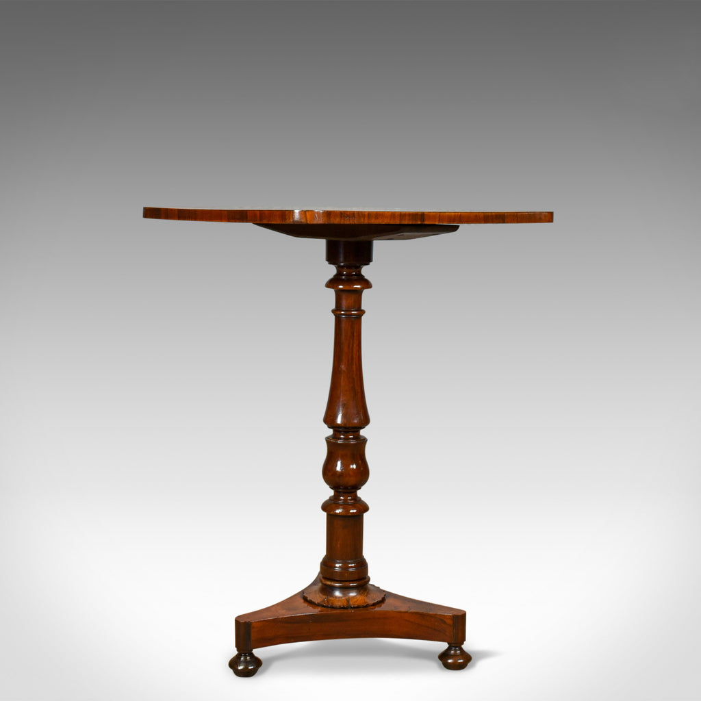 Antique Wine Table, Regency, Rosewood, Side, Gillows Lancaster, Circa 1820