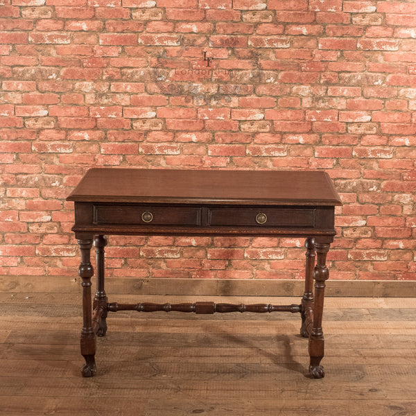 Victorian Oak Writing Table, c.1870 - London Fine Antiques