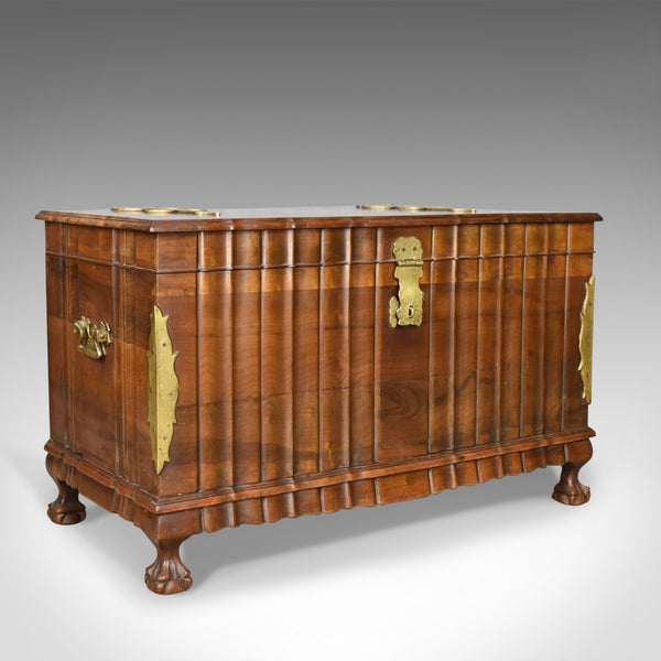 Asian Hardwood Trunk, Bronzed Mounted Chest, Coffer, Late 20th Century - London Fine Antiques