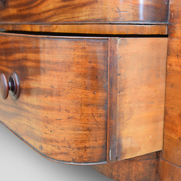 Antique Chest Of Drawers, Large, Victorian, Scottish, c.1880 - London Fine Antiques