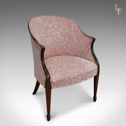 Antique Howard & Sons Chair, Victorian Armchair - London Fine Antiques